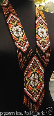Beautiful Ukrainian beadwork