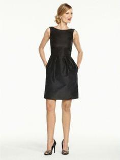 Black Bridesmaid's Dress $69 #bridalpartystyle #bridesmaids