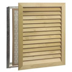 Architectural Wood Air Return Grille - Wall Registers - Registers - Hardware