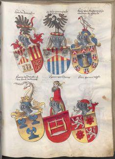 Grünenberg, Konrad: Das Wappenbuch Conrads von Grünenberg, Ritters und Bürgers zu Constanz um 1480 Cgm 145 Folio 234
