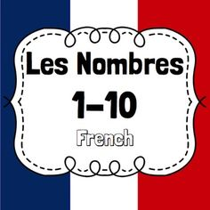 french numbers 1-20 free presentation