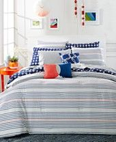 Whim by Martha Stewart Collection Between The Lines 5-Pc. Comforter Sets