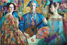 """Olga Suvorova          """"Olga Suvorova was born in St Petersburg in 1966 and studied monumental composition at the famous Repin Institute of ..."""