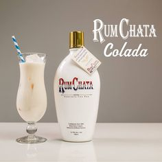 THE RUMCHATA COLADA 3 parts RumChata  1 part Light Rum  1 part Pineapple Juice  1/2 part Cream of Coconut  Shake with ice. Strain and serve over ice. Enjoy!    (recipe courtesy of RumChata)