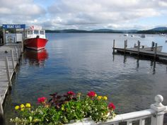 3. Wolfeboro Love to get ice cream from baileys bubble and watch the sunset!!