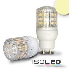 GU10 Leuchtmittel SMD48, 3,5 Watt, prismatisch, warmweiss / LED24-LED Shop