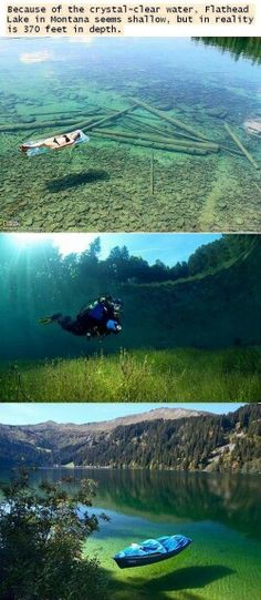 Want to see this. It looks shallow but it gets up to 370 ft deep!!!
