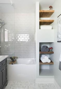 nice small grey & white bathroomhttp://www.cool