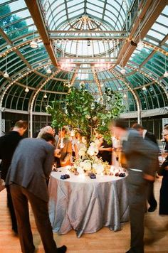 love this greenhouse venue