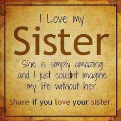 You are all my sisters, and just a reminder: I love you<3 @Danielle Lampert Lampert Lampert Lampert Lampert McDonald