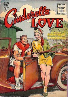 Cinderella Love by Matt Baker. Comic Book Artists, Comic Artist, Comic Books, Book Cover Art, Comic Book Covers, Matt Baker, Romance Comics, Sci Fi Comics, African American Artist