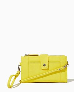 charming charlie | Isabeau Solid Crossbody Wristlet | UPC: 450900364717 #charmingcharlie