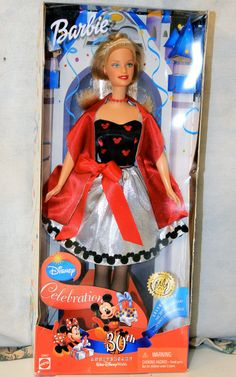 Walt Disney World 30th Anniversary Barbie, a Disney World exclusive, 2001