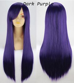 Cosplay Long Straight Synthetic Hair Capless Wig