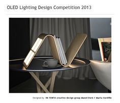Ona, portable OLED lighting designed with use of eco-friendly materials