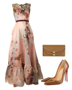 """Untitled #165"" by lecoiffeur on Polyvore featuring Antonio Marras, Christian Louboutin and Chloé"