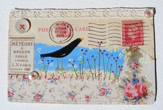 embellished envelope by hens teeth, via Flickr
