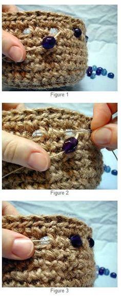 Beaded Jute Basket - Media - Crochet Me