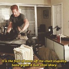 """The Walking Dead Season 6 Episode 6 """"Always Accountable"""" Sgt. Abraham Ford"""