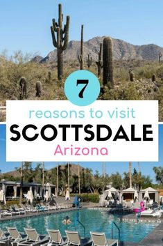 7 Reasons You Should Definitely Visit Scottsdale, Arizona, from food to wine to art to the outdoors - Travel Us Travel Destinations, Places To Travel, Scottsdale Hotels, Scottsdale Arizona, Visit Arizona, Arizona Travel, Arizona Trip, Arizona Usa, Sedona Arizona
