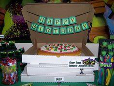 Teenage Mutant Ninja Turtles Birthday Party Ideas | Photo 6 of 39 | Catch My Party