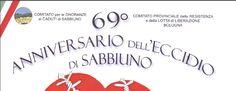 A 70 anni dall'eccidio di Sabbiuno.  Momento di riflessione per recuperare i valori per difendere i quali tante donne e uomini hanno sacrificato la vita. — con Gabriele Minghetti.