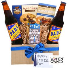 Jack and Jill baby shower gift idea Alder Creek Happy Father's Day Gift Basket