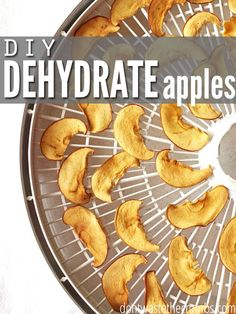 The scoop on how to dehydrate apples, plus a recipe for dehydrated caramel apple chips - an excellent alternative to holiday candy!