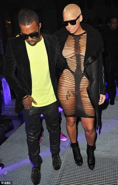 """God loves her for this """"dress"""". No one else does. lmao"""