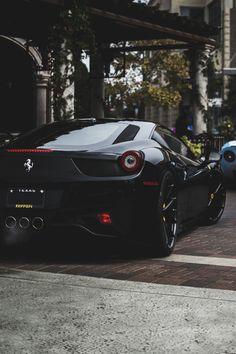 The Ferrari 458 is a supercar with a price tag of around quarter of a million dollars. Photos, specifications and videos of the Ferrari 458 Ferrari 458, Maserati, Ferrari 2017, Lamborghini Veneno, Koenigsegg, Sexy Cars, Hot Cars, Chevrolet Camaro, Corvette