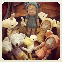 My new dream is to crochet dolls all day for a living. Done and done.