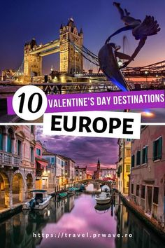 10 Amazing Valentine's Day Destinations in Europe! From famous romantic cities in Europe to lesser-known European destinations for couples, you have many options included. #valentinesday #europe #romantic #love #travel #valentinesdayeurope #traveldestinations #travelmomentsintime