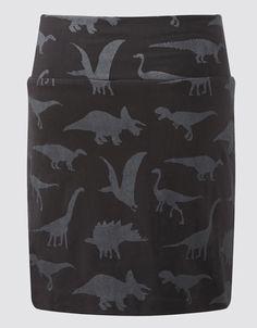 Dino Shapes Skirt..