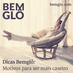 Hoje a gente mostra para você que ficar em casa é tudo de Bemglô e tem muitas vantagens. Vem com a gente e confira! ;)  #bemglo #dicasbemglo #caseiro