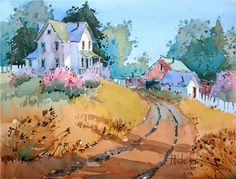 DVD PREVIEW: Hilltop Homestead: Transforming the Landscape in Watercolor with Joyce Hicks