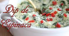 Receta fácil de dip picante de espinaca y alcachofa
