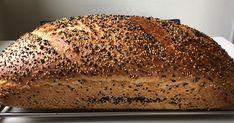 Feriki HvedeBrød - Bagt i Hul-Form . Ingredienser: 375 g Hvedemel 175 g Fuldkornshvede 55 g Feriki Hvede (Giver røget sm...