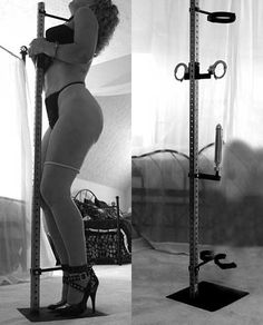 Every gal needs this kind of pole.  Mmmm