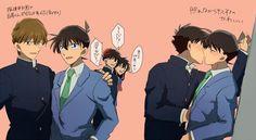 Ran And Shinichi, Kudo Shinichi, Conan Comics, Detektif Conan, Detective Conan Shinichi, Kaito Kuroba, Kaito Kid, Magic Kaito, Case Closed