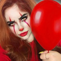 "4,421 Likes, 35 Comments - Halloween Makeup Ideas (@halloweenmakeupideas) on Instagram: ""MUA: @deneandale // #itmovie #halloween #halloweenmakeupideas #halloweenmakeup #halloween2017…"""