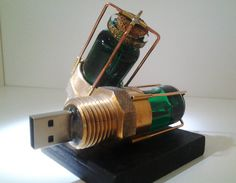 "USB Steampunk unidad ""Nautilus"" flash 32 GB"