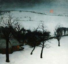 Valerius De Saedeleer - Winter in Flanders - Valerius De Saedeleer