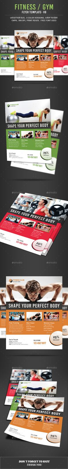 Zumba Fitness Class Flyer Template Zumba fitness, Flyer template - Gym Brochure Templates