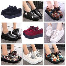 Tamanho 35 - 41 trepadeiras sapatos mulher plus Size plataforma mulheres sapatos Flats(China (Mainland))