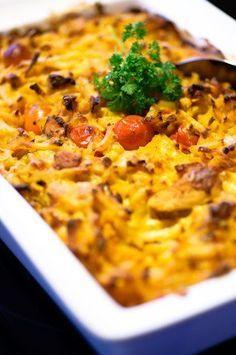 Maukas broileri-perunavuoka Egg Recipes, Chicken Recipes, Cooking Recipes, Healthy Recipes, Healthy Food, Recipies, Good Food, Yummy Food, Easy Cooking