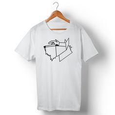 Camiseta Schnauzer Geometric. Disponível em vários modelos e cores no nosso site!