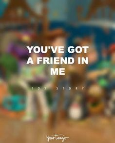 17 Disney Quotes About Friendship That Will Warm Your Heart Cute Bff Quotes, Disney Love Quotes, Disney Friendship Quotes, Toy Story Quotes, Movie Quotes, Sad Quotes, Photo Quotes, Picture Quotes, Word Drawings