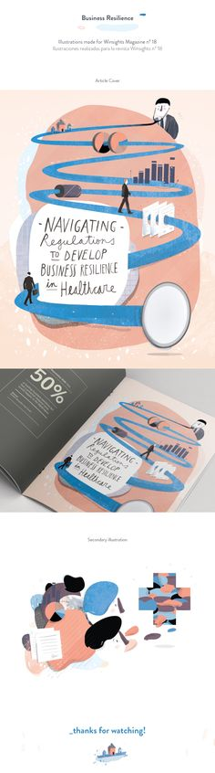 Business Resilience Illustration on Behance