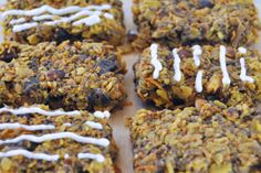 Carrot Cake Oatmeal Bars 6