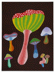 Yayoi Kusama, 'MUSHROOMS,' 2014, David Zwirner